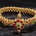 Gold Plated Beads Bracelet from Aatman