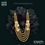 Stunning Gold Haram Designs in Khazana Jewellery
