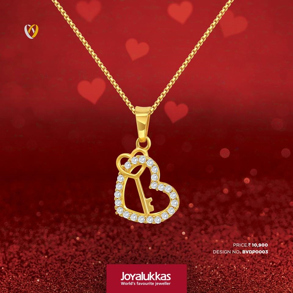 Joy Alukkas Gold Chain Models South India Jewels