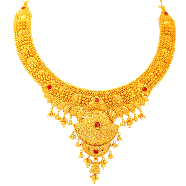 Indian Gold Jewellery Necklace Designs With Price: Lalitha Jewellery Gold Necklace Designs