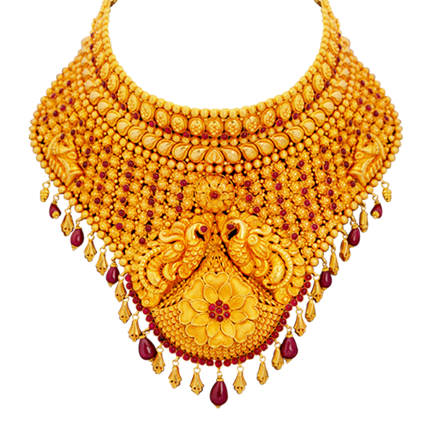 lalitha jewellery gold necklace designs with price