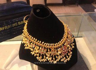 Latest Ruby Guttapsualu Necklace