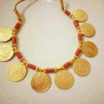 Maharashtrian Style Coin Necklace