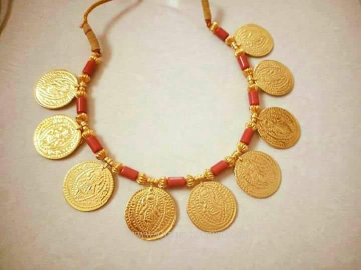 Maharashtrian Style Coin Necklace