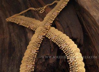 220 Grams Gold Coin Necklace