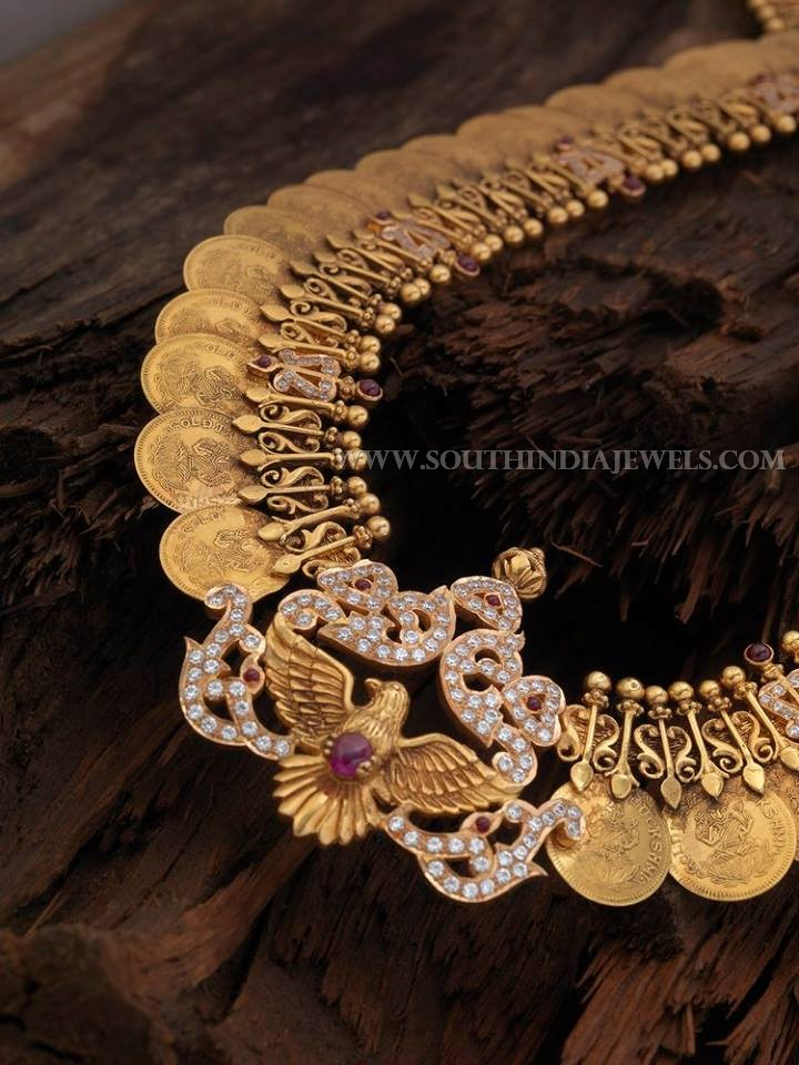 220 Grams Gold Coin Necklace