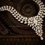 Designer Diamond Necklace From Aabushan Jewellery