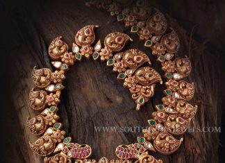 Gold Antique Mango Mala With Price Details