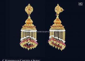 Gold Pearl Buttalu Designs