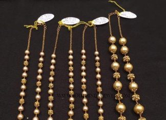 Gold Antique Pearl Mala Collections