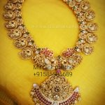 Gold Plated Mango Mala From Ms Pink Panther