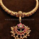 53 Grams Gold Antique Necklace