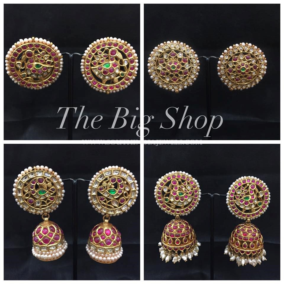 Antique Kemp Jhumka Collections