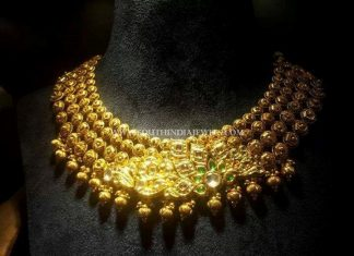 Gold Antique Necklace From CMR Jewels