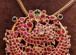 Gold Antique Kemp Pendant For Chains