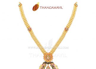 Gold Ball Necklace From Thangamayil Jewellery