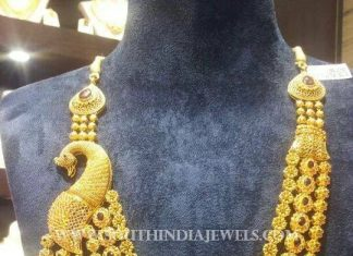 Gold CZ Stone Haram From CMR Jewels
