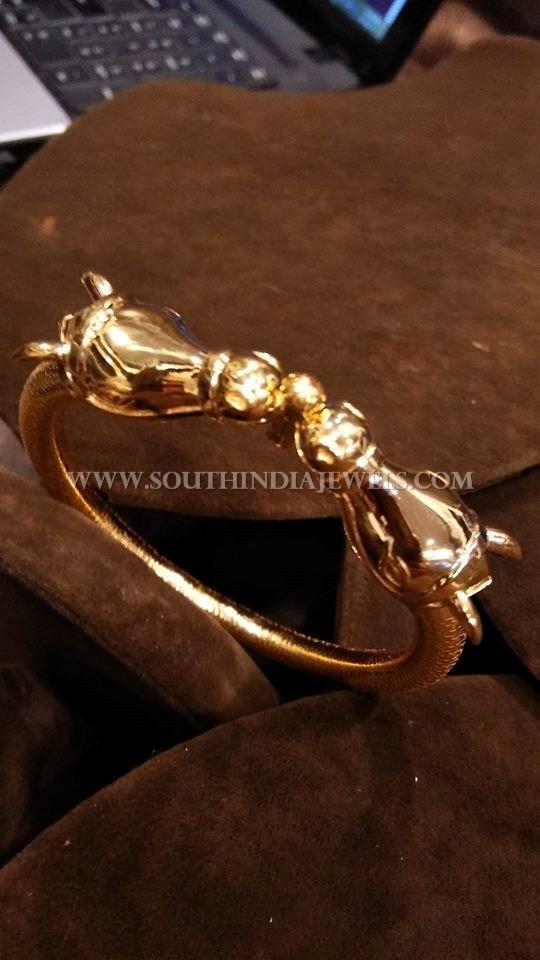Gold Daily Wear Bracelet Model
