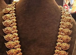 Gold Long Kemp Mango Haram Designs