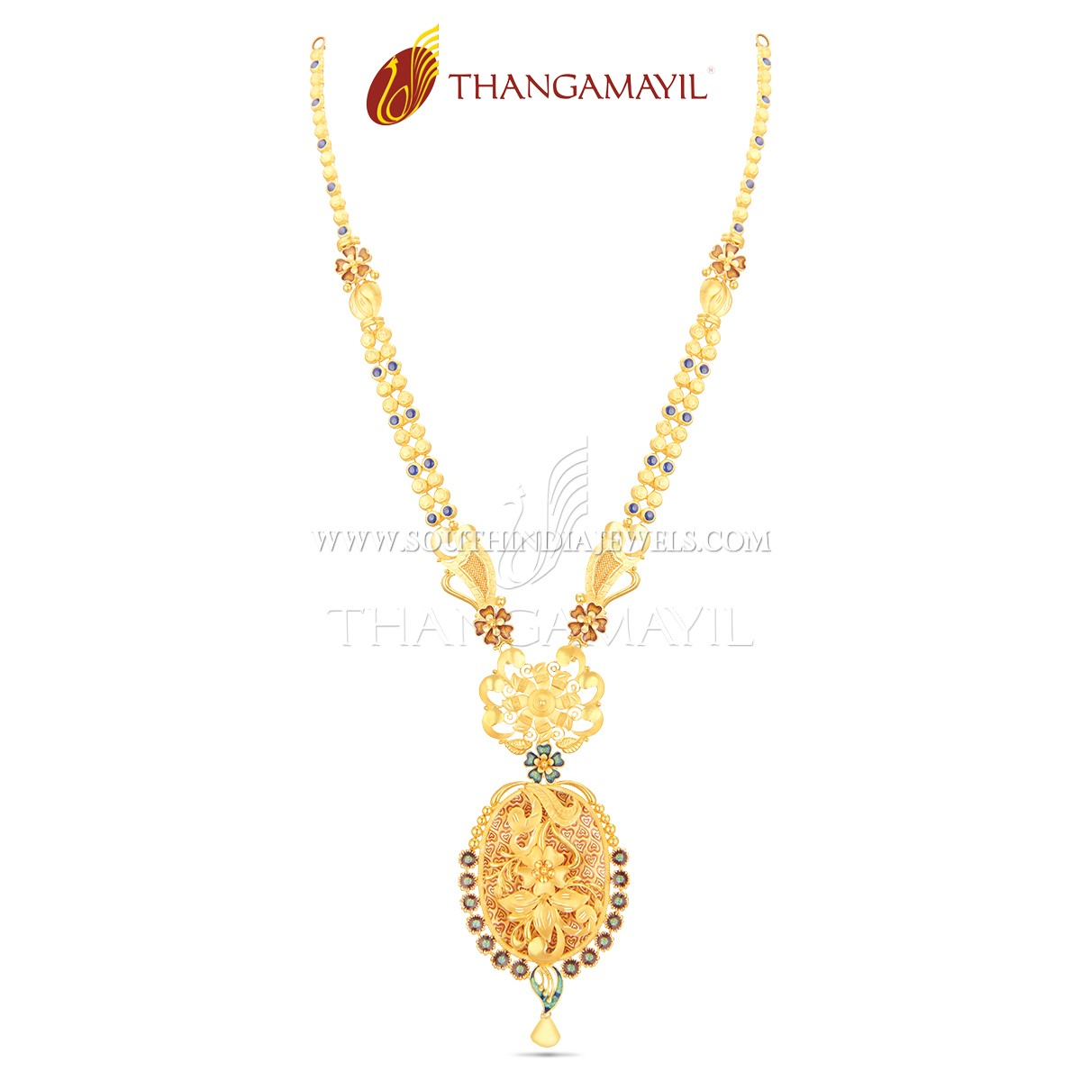 Gorgeous Gold Malai From Thanamayil Jewellery