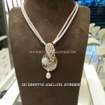 Gold Mesh Chain With Designer Pendant