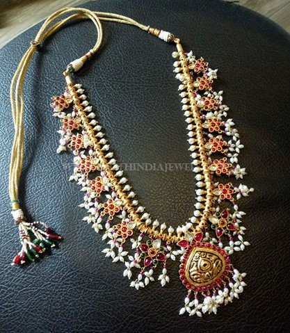 92.5 Silver Guttapsualu Necklace