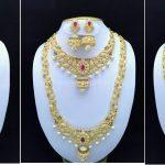 Stone Jewellery Set Designs