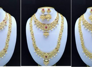 Stone Jewellery Set Designs