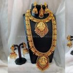 Bridal Temple Jewellery Set From Simma Jewels