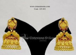 Gola Antique Jhumka From Totaram & Sons