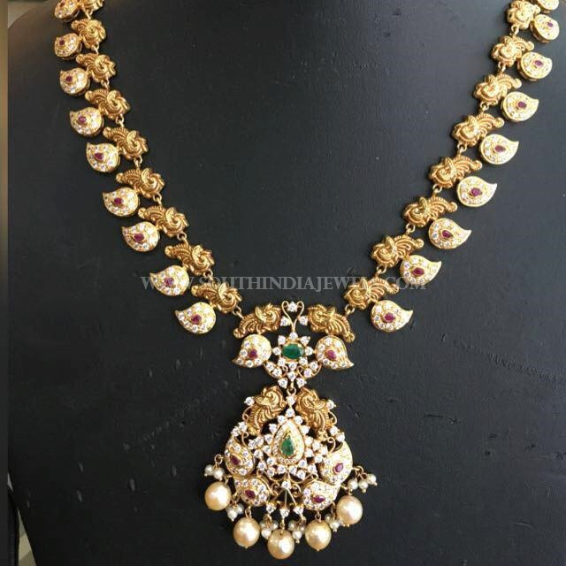 Gold Medium Size Pachi Haar