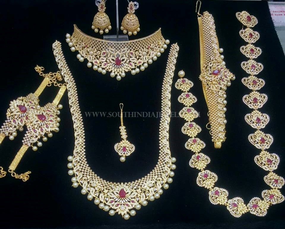 Imitation Bridal Jewellery Set From Simma Jewels South
