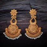 Matt Finish Antique Earrings Design