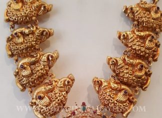 Temple Jewellery From Sri Mahalaxmi Gems & Jewellers