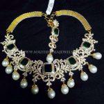 Diamond Emerald Necklace From Arka Diamonds