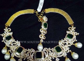 Diamond Emerald Necklace From Akra Diamonds