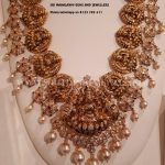 Gold Antique Lakshmi Necklace From Sri Mahalaxmi Gems & Jewellers