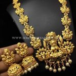 Imitation Goddess Lakshmi Haram Set