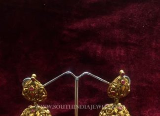 Gold Matt Finish Jhumka From Big Shop