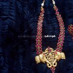 Temple Ruby Haram & Earrings
