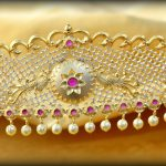 Gorgeous Bridal Ottiyanam Design
