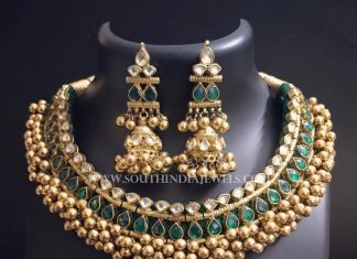 Gold Antique Tussi Necklace