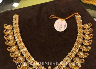 Latest Model Gold Antique Necklace