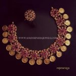 Gold Plated Pure Silver Coin Necklace