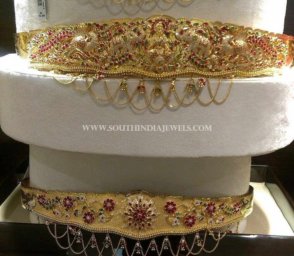 Ruby Vadanam Designs From CMR Jewels
