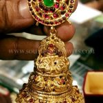 Bold Antique Gold Jhumka From Rohit Jewellers