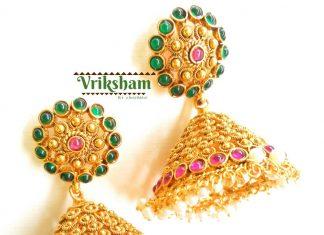 Antique Jhumka From Vriksham