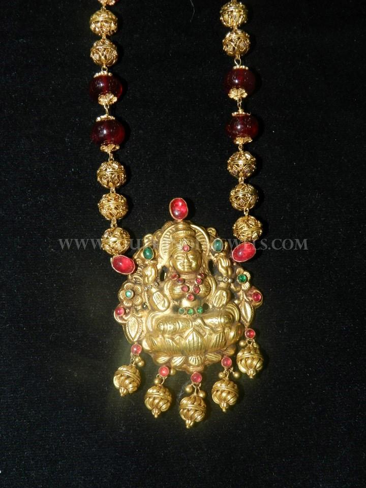 Antique Lakshmi Chain Necklace