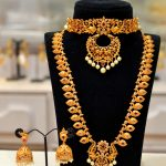 Bridal Necklace Set From Shubam Pearls And Jewellery