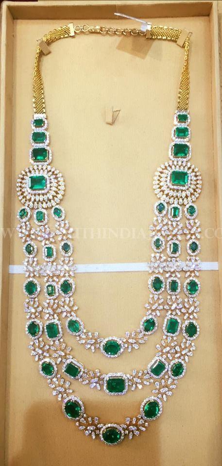 Diamond Emerald Haram Design